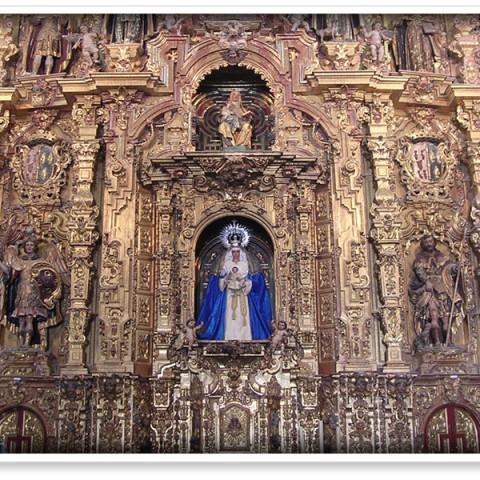 Limpieza y Pintado de la Parroquia de Santa Maria de Jesus (Lebrija)